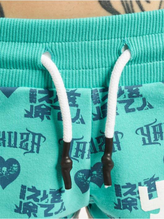 Yakuza Short Logo Love turquoise