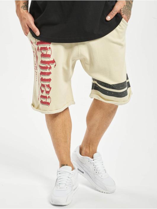 Yakuza Shorts Scrap Town beige