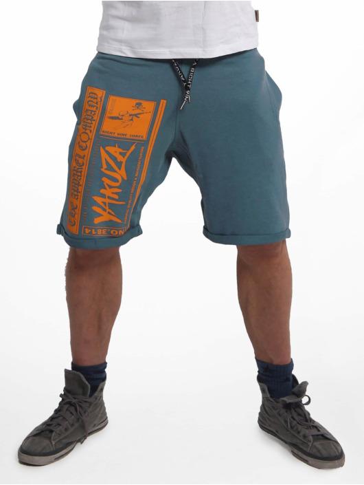 Yakuza Shorts Fuck Religion Urban blau