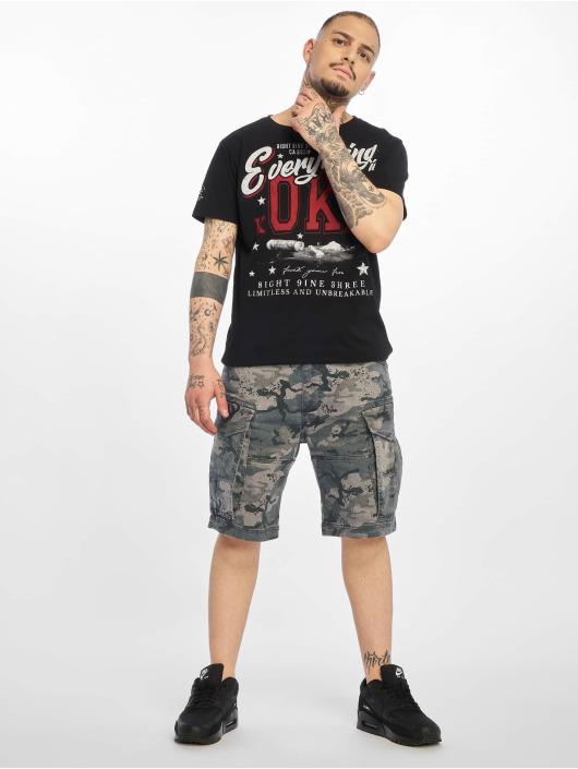 Yakuza shorts Memento Mori camouflage