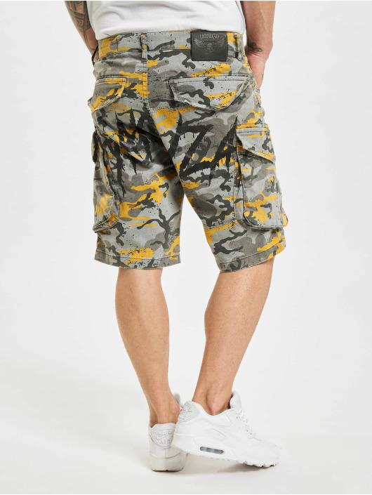 Yakuza Shorts Knuckle Skull camouflage