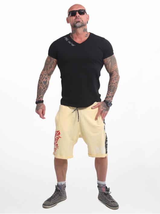 Yakuza shorts Track Tape geel