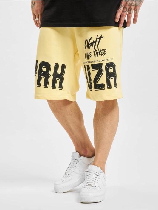 Yakuza Shorts Allergic gelb