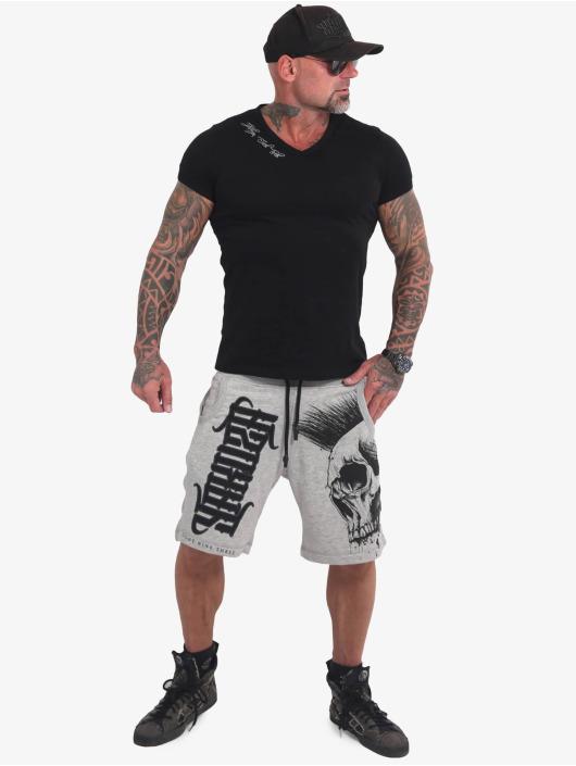 Yakuza Shorts Dead Punk V02 Sweat grau