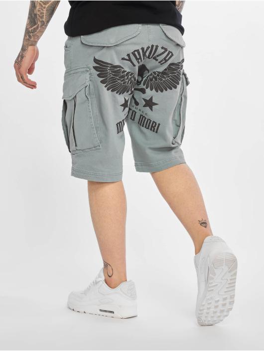 Yakuza shorts Memento Mori grijs