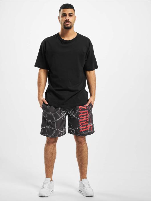 Yakuza Shorts Barbwire nero