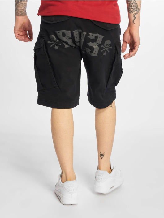 Yakuza Shorts Death Core schwarz