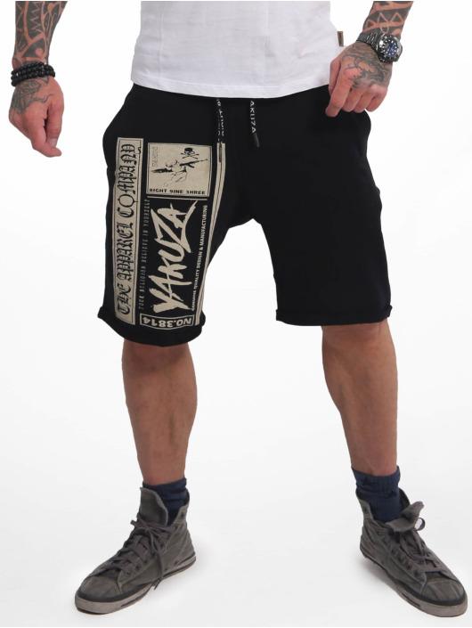 Yakuza Shorts Fuck Religion Urban schwarz