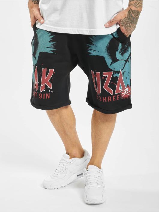 Yakuza Shorts Dead Punk Urban schwarz