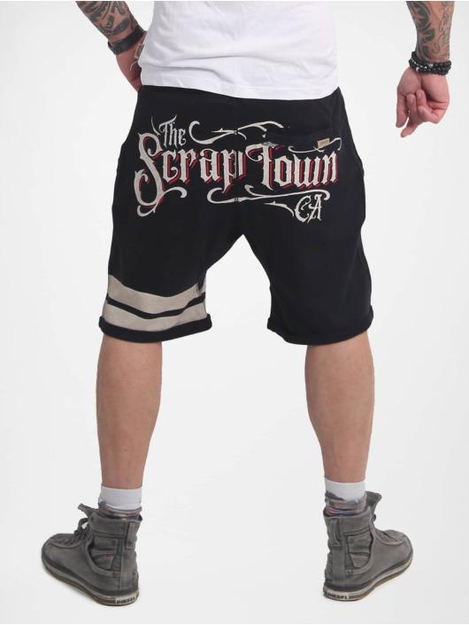 Yakuza Shorts Scrap Town schwarz