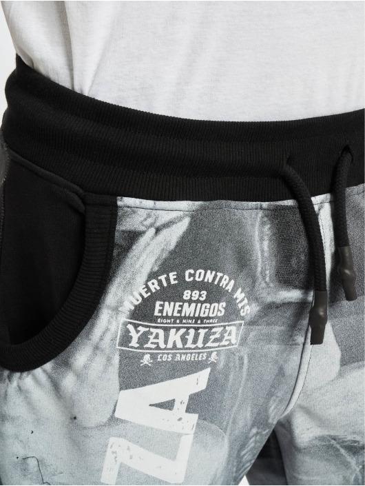 Yakuza Shorts Muerte Skull schwarz