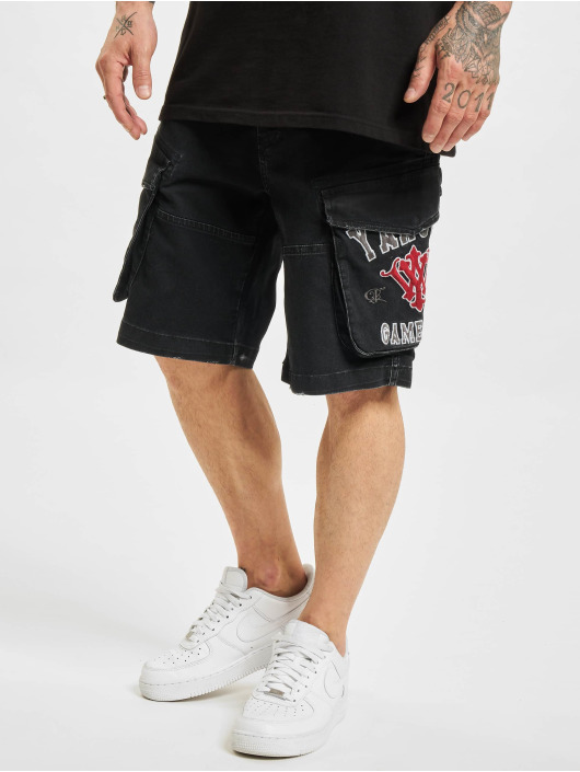 Yakuza Shorts 893 College schwarz