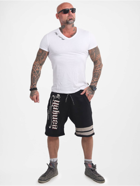 Yakuza Shorts Scrap Town svart