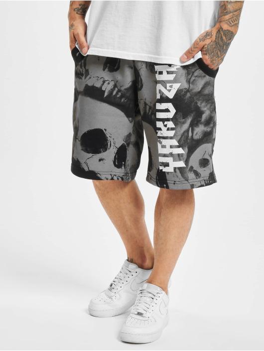 Yakuza shorts Muerte Skull V02 zwart