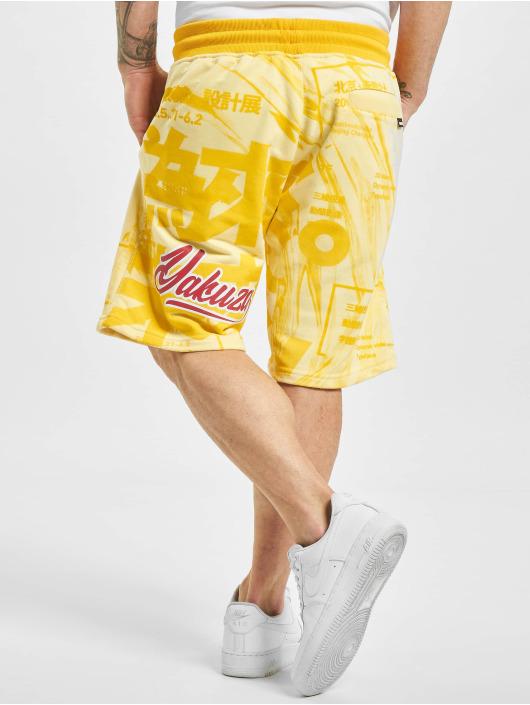 Yakuza Shortsit Nippon Stylez keltainen