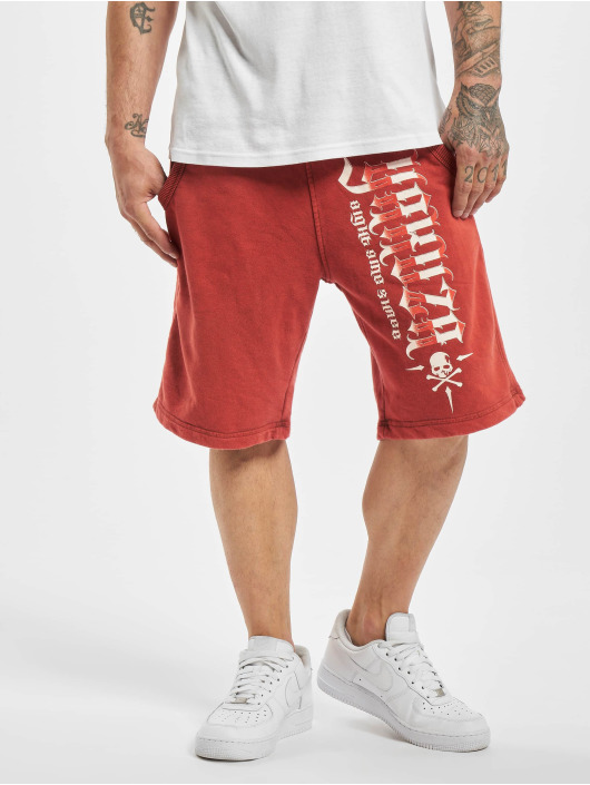 Yakuza Shortsit Pointing Sweat punainen