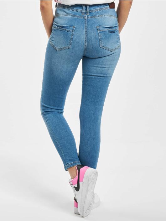 Yakuza Skinny Jeans Fly blue