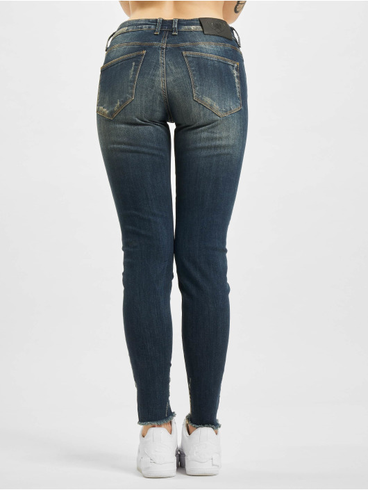 Yakuza Skinny Jeans Pedrito niebieski