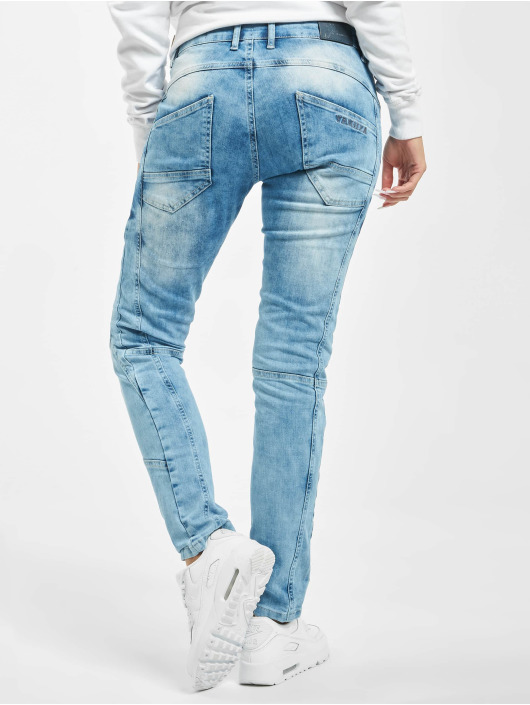 Yakuza Slim Fit Jeans Vintage blau