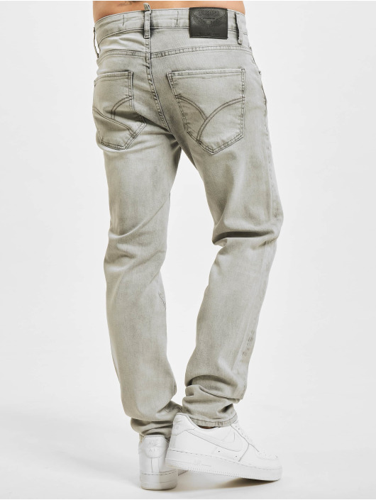 Yakuza Slim Fit Jeans 420 grå