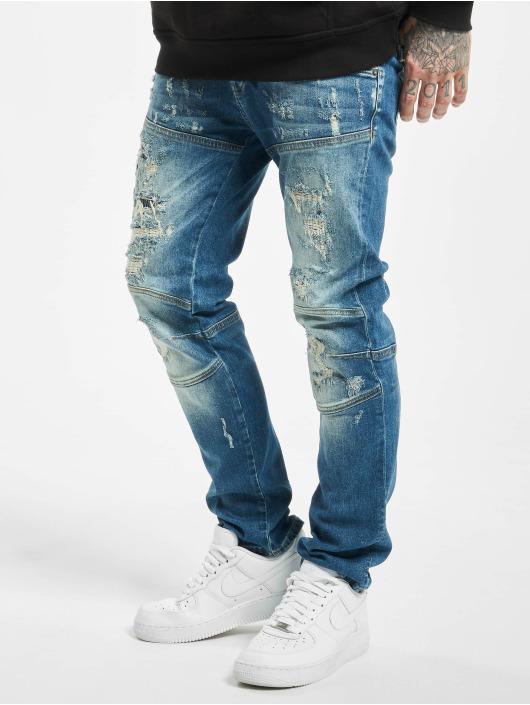 Yakuza Slim Fit Jeans Gimp V02 modrá