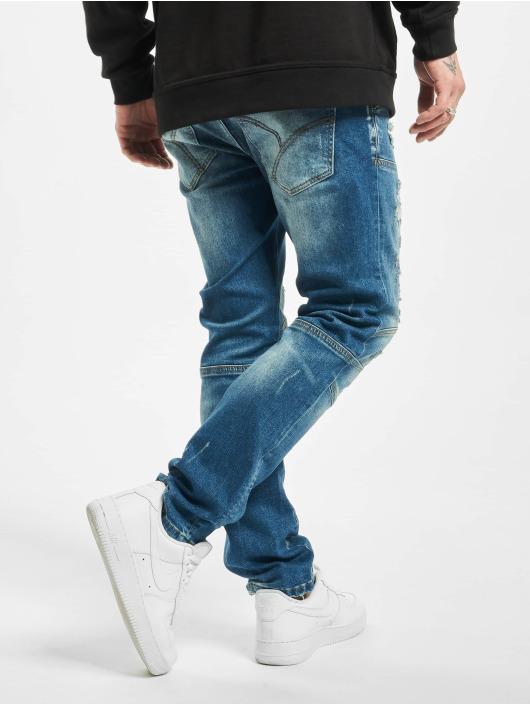 Yakuza Slim Fit Jeans Gimp V02 modrý