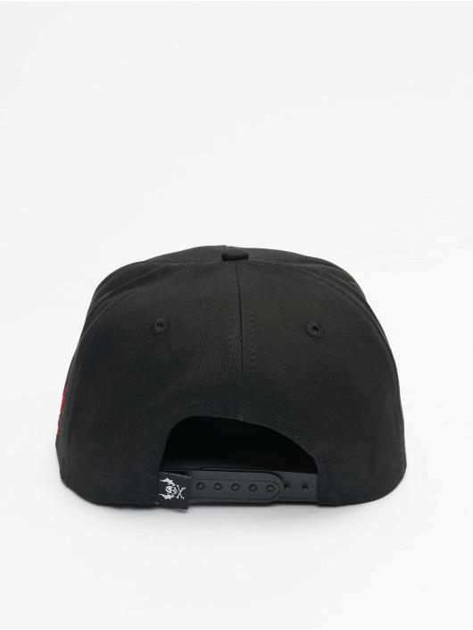 Yakuza Snapback Cap Ent black