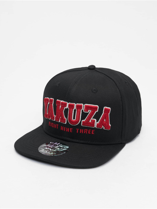 Yakuza snapback cap 893 College zwart