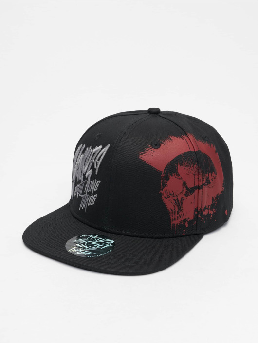 Yakuza Snapback Caps Dead Punk V02 čern