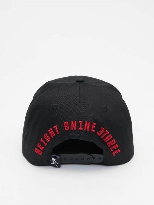 Yakuza Snapback Caps 893 College čern