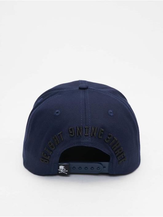Yakuza Snapback Caps 893 College modrý