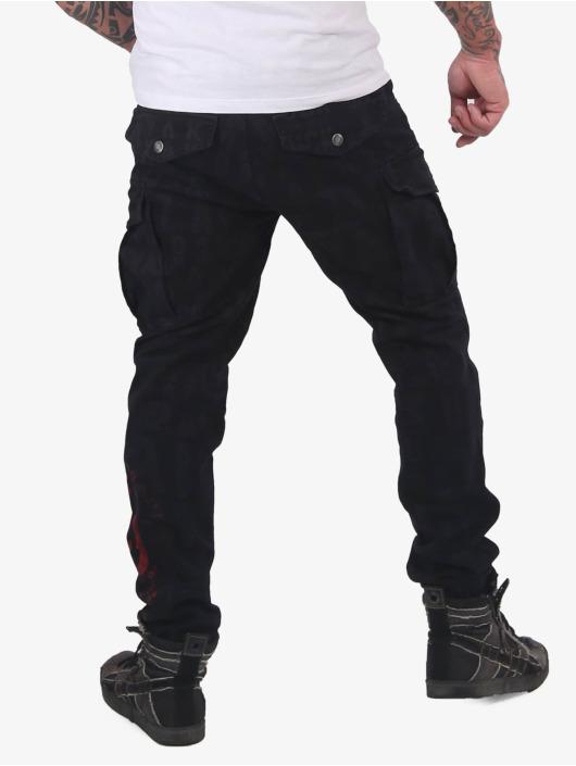 Yakuza Spodnie Chino/Cargo Branding Grip czarny