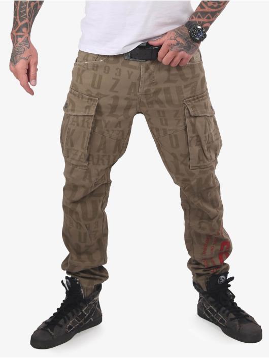 Yakuza Spodnie Chino/Cargo Branding Grip khaki