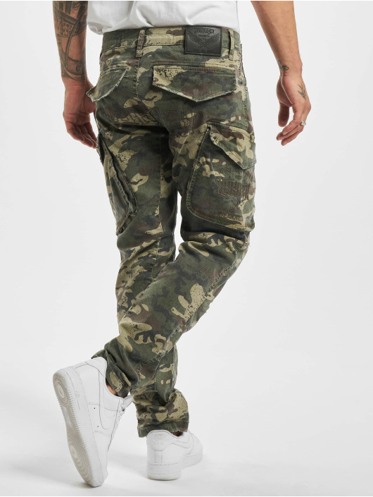 Yakuza Spodnie Chino/Cargo Old Firm moro