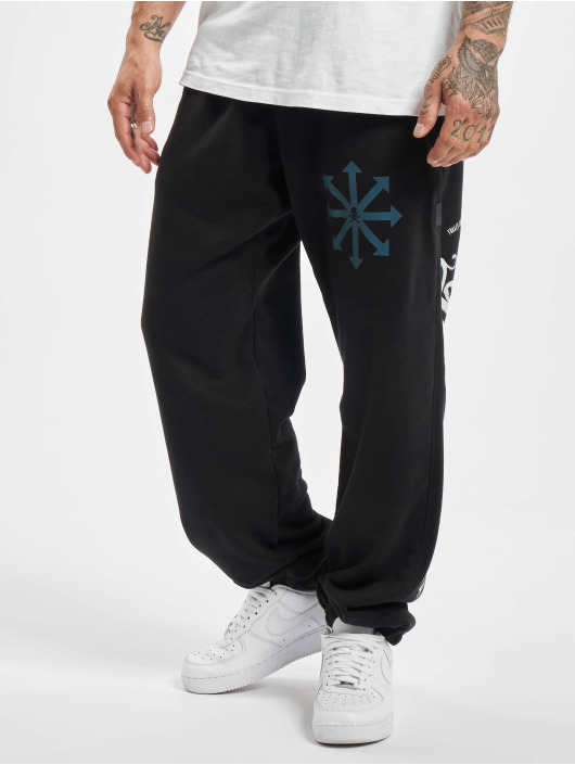 Yakuza Spodnie do joggingu Satanicos Loose czarny