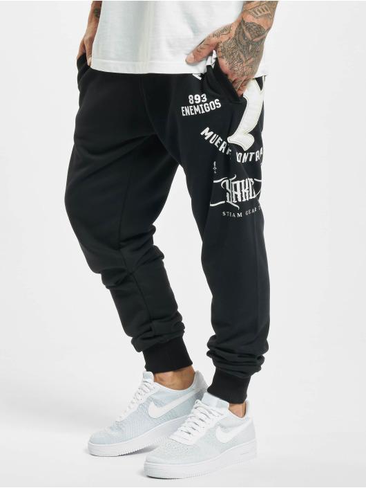 Yakuza Spodnie do joggingu Muerte Logo czarny