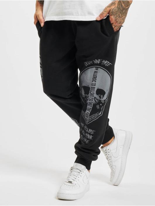 Yakuza Spodnie do joggingu Cuernos De Chivo czarny