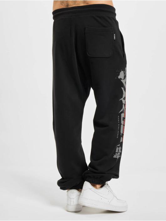 Yakuza Spodnie do joggingu Trouble Loose czarny