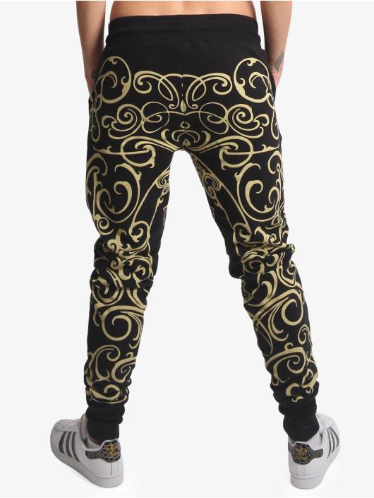Yakuza Spodnie do joggingu Golden Roots czarny