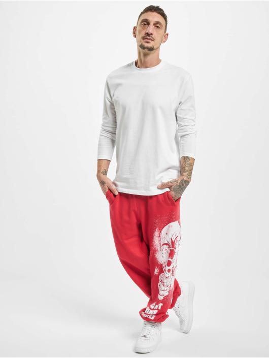 Yakuza Spodnie do joggingu Clown Loose czerwony