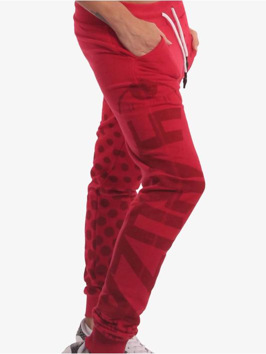Yakuza Spodnie do joggingu Die Hard czerwony