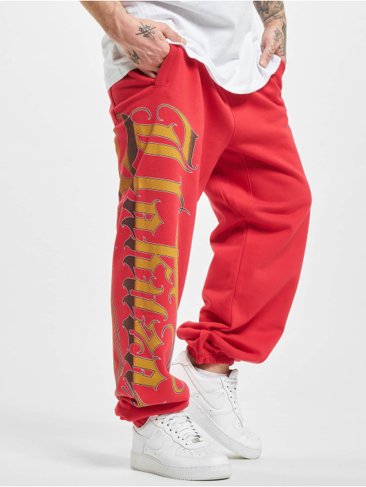 Yakuza Spodnie do joggingu Glory czerwony