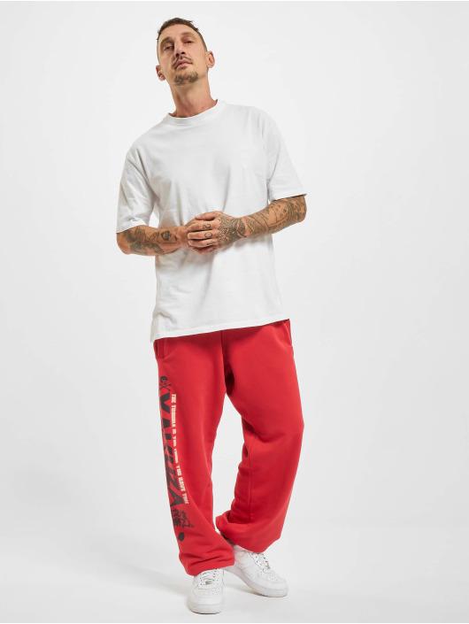 Yakuza Spodnie do joggingu Trouble Loose czerwony