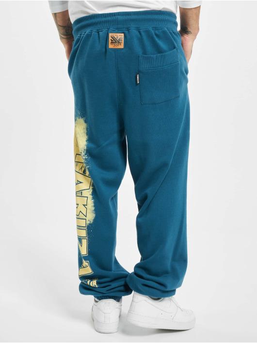 Yakuza Spodnie do joggingu Hating Clown Loose niebieski