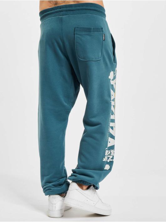 Yakuza Spodnie do joggingu Trouble Loose niebieski