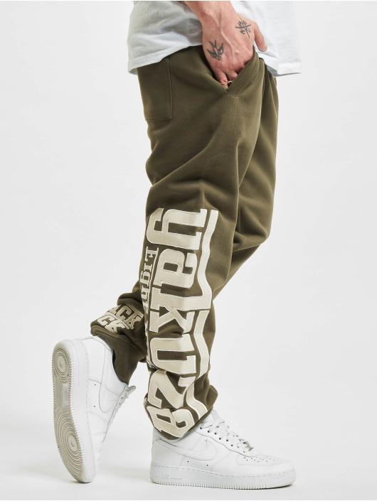 Yakuza Spodnie do joggingu SF App zielony