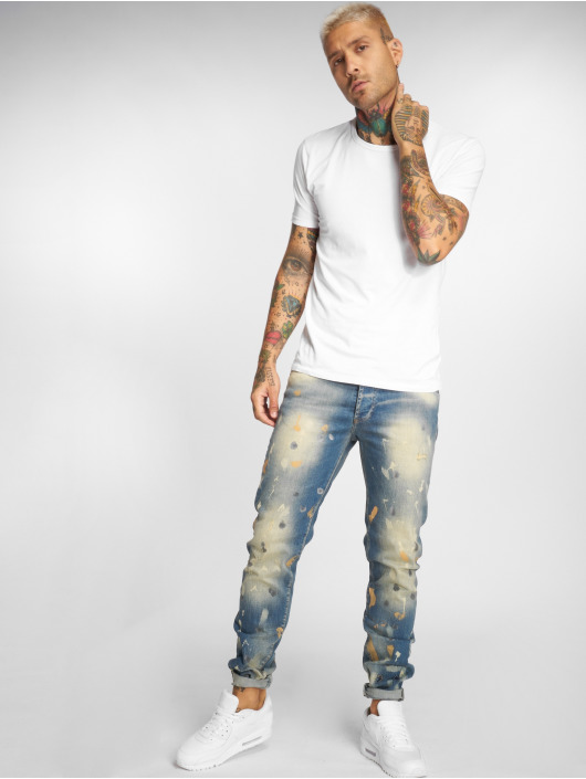 Yakuza Straight Fit Jeans 893 blå