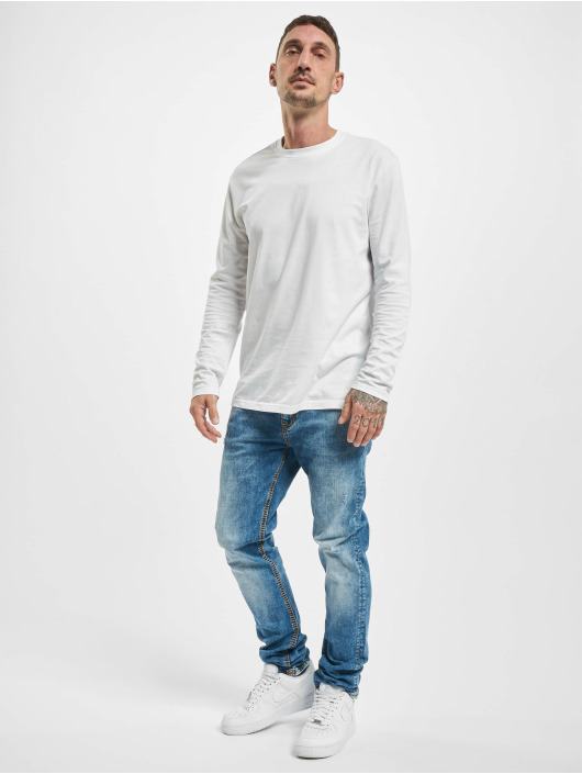 Yakuza Straight Fit Jeans 420 blå
