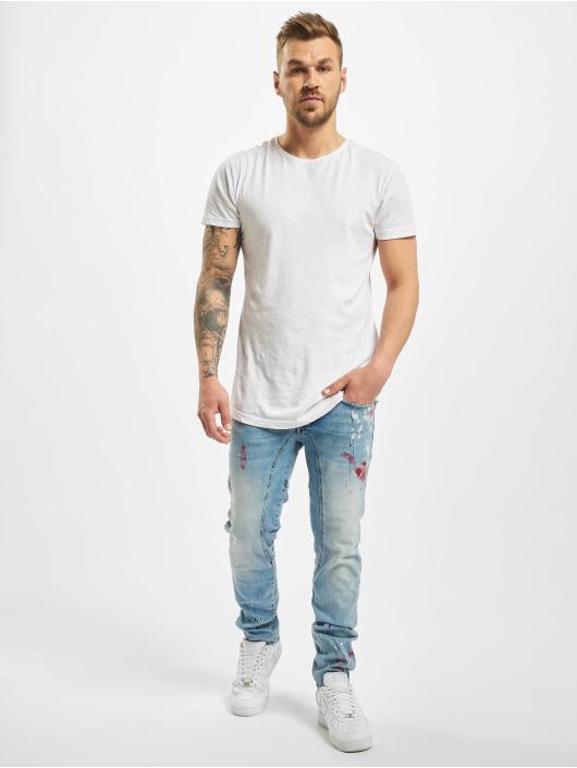 Yakuza Straight Fit Jeans Shard blau