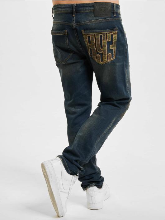 Yakuza Straight Fit Jeans 420 blau
